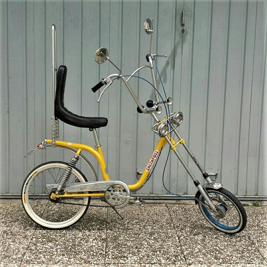 Le biciclette della mia gioventù, Quella di Alessandro era pressapoco così.