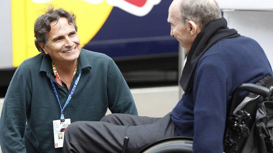 Frank Williams e Nelson Piquet.
