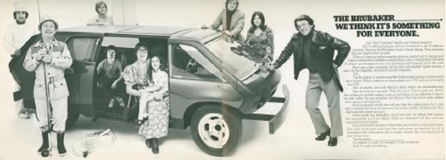 Brubaker Box in una pubblicità dell'epoca.