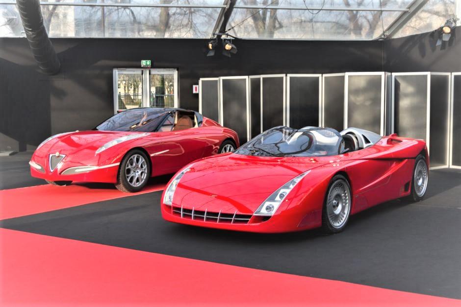 Fioravanti Vola con la Ferrari F100.