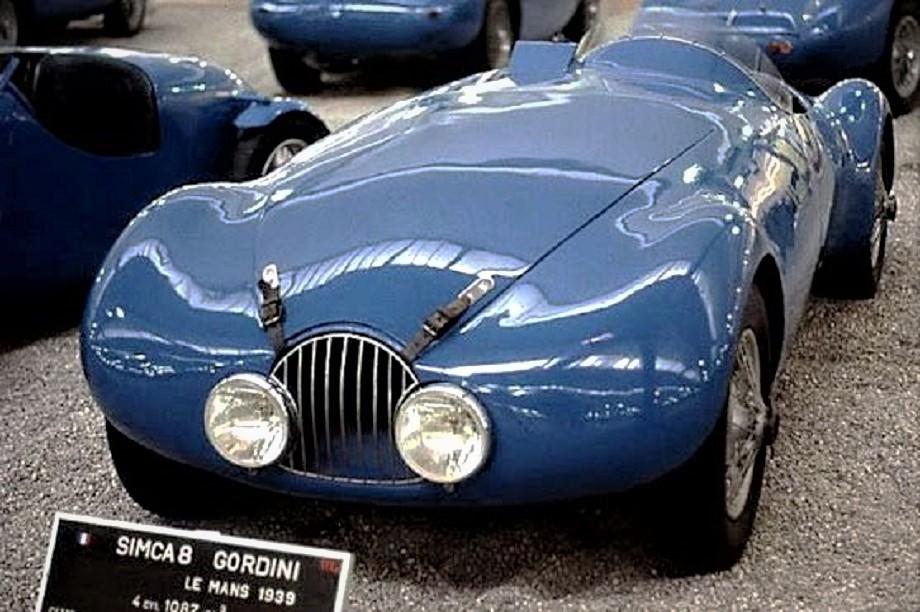 Gordini con la sua Simca 8.