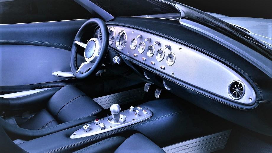 Jaguar concept F Type, interni sontuosi.
