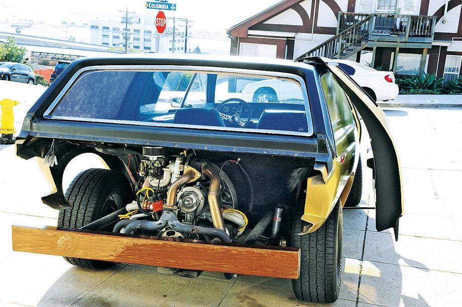 Brubaker Box, come in molte kit car ci potevi montare il motore che volevi, bastava farcelo stare.