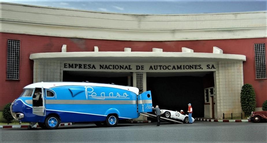Pegaso Bacalao Un gran bel diorama realizzato in scala.