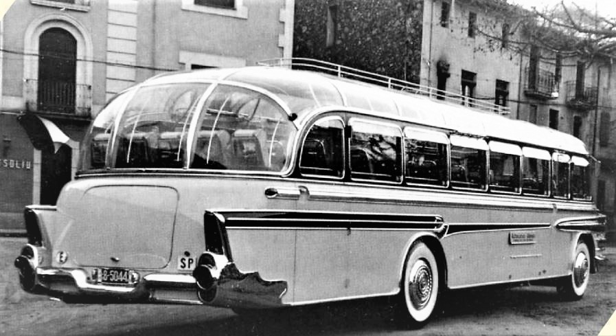 Pegaso eléctrico, bus anni 50.