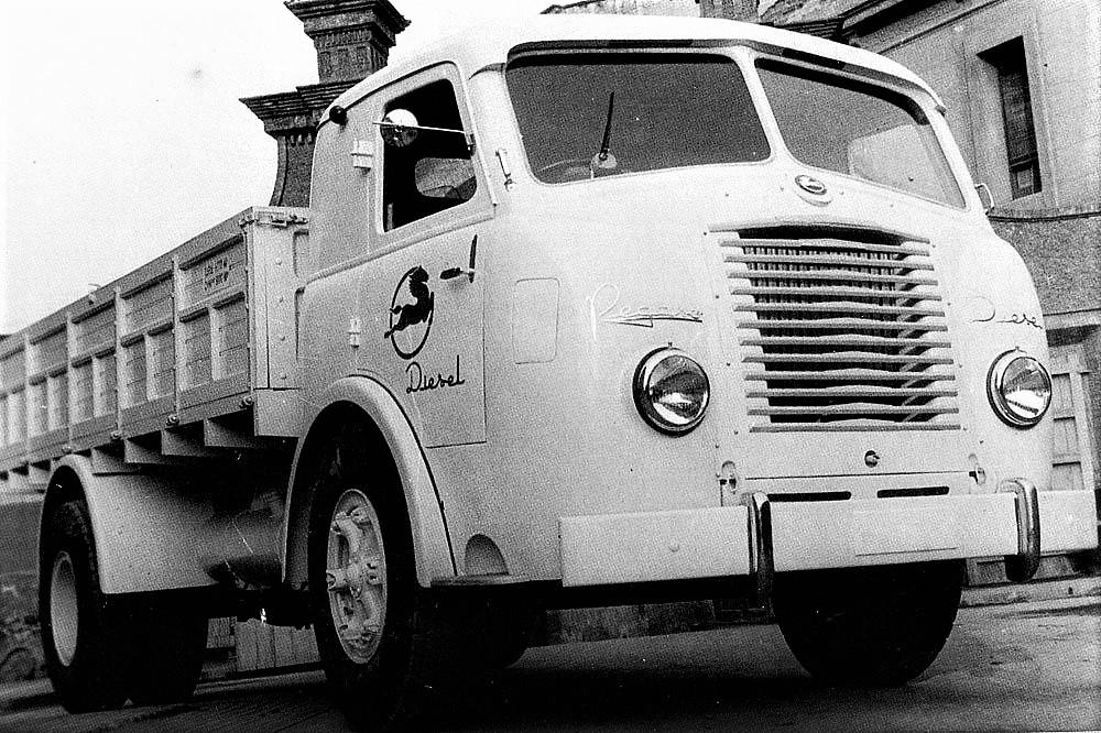 Pegaso eléctrico il modello diesel dal quale derivarono il prototipo Pegaso eléctrico.