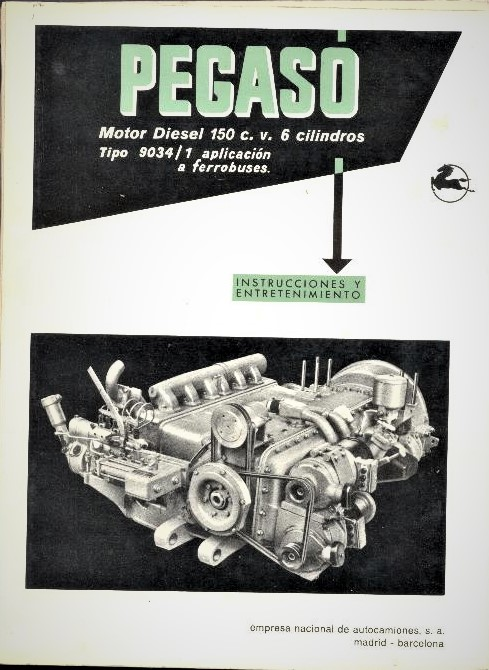 Pegaso eléctrico un motore diesel più potente rispetto alle prime versioni.