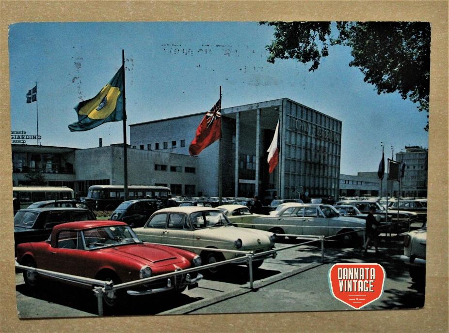 Pubblicità e cartoline vintage Torino, Palazzo Esposizione al Valentino giugno 1971.