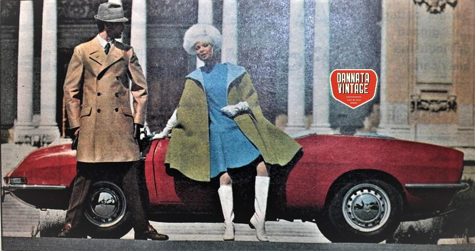 Auto pubblicità e sfondi, Da una delle riviste della cara sorella.