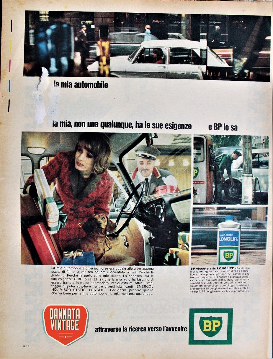 Pubblicità e benzine d'epoca
