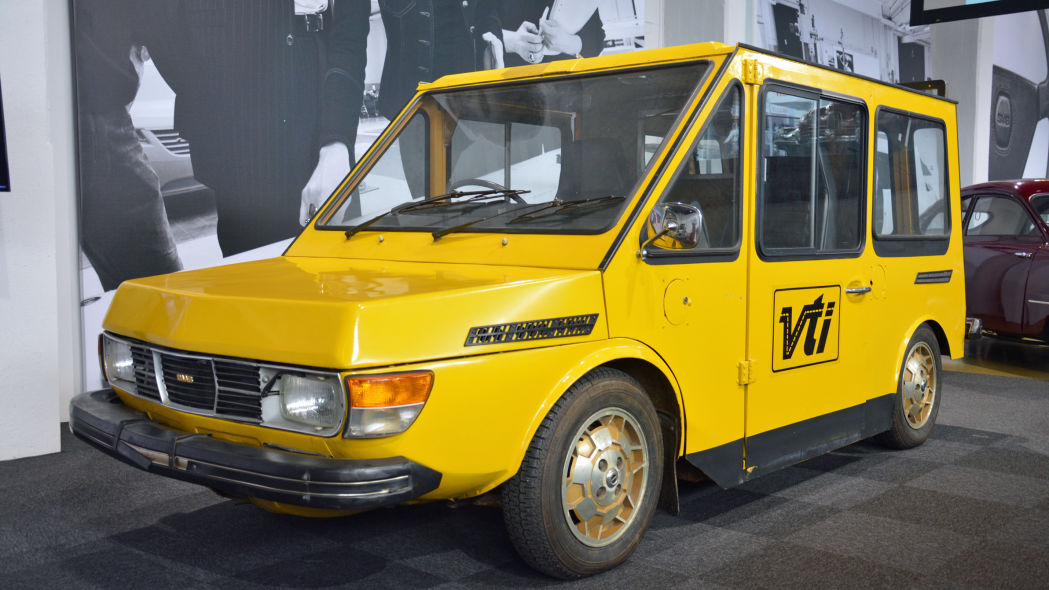 SAAB electric commercial vehicle