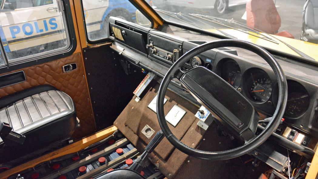 SAAB electric commercial vehicle Immagino in giorni umidi che gioia ;) ;) .