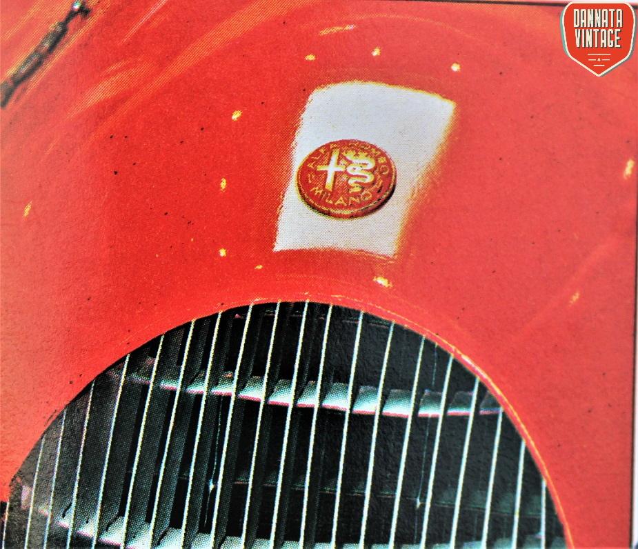 Alfa Romeo ALFETTA Il logo Alfa Romeo dell'epoca.