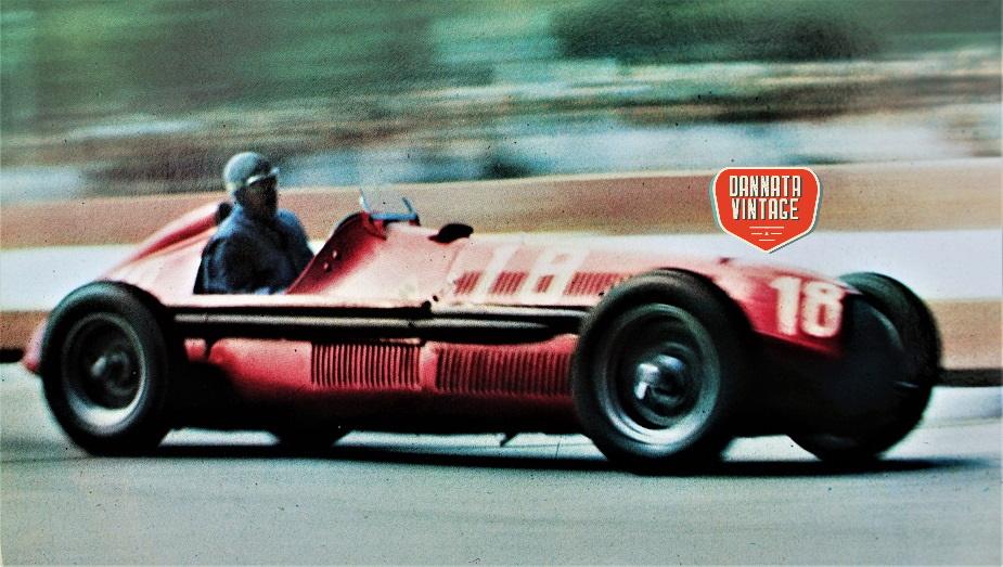 Alfa Romeo ALFETTA La copertina, Giuseppe Farina sulla 158.