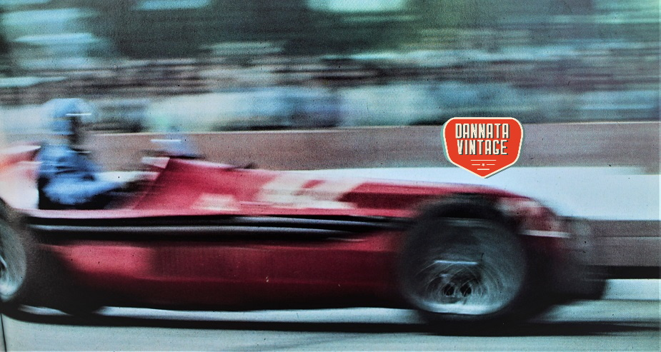 Alfa Romeo ALFETTA 1958 dopo essere state prelevate dal caseificio e nel GP delle Nazioni di Ginevra.