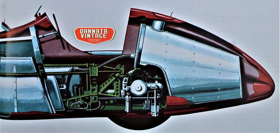 Alfa Romeo ALFETTA Sempre la 159, con i due grandi nuovi serbatoi, resisi necessari visti gli incrementati consumi di carburante.