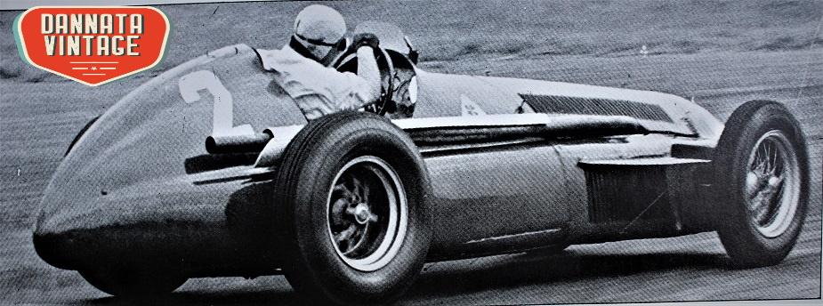 Alfa Romeo ALFETTA Fangio con la sua 159, 1951 GP d'Inghilterra.