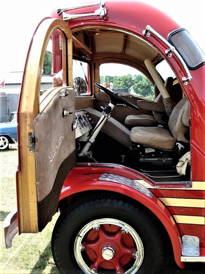 Labatt's Beer Aero Consegne veloci su un mezzo confortevole, mancava però lo spazio dove l'autista poteva riposarsi.