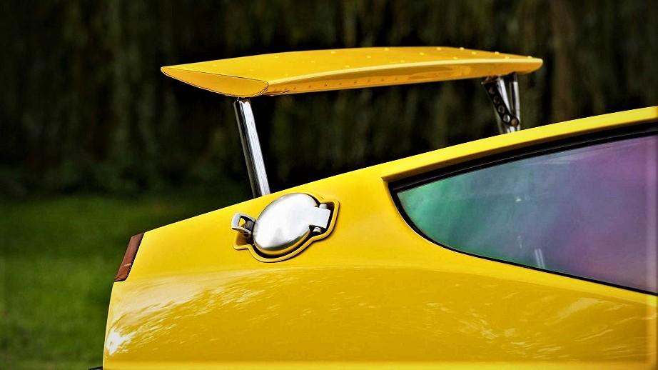 Lancia Fulvia HF Competizione Tappo del serbatoio a sgancio rapido.