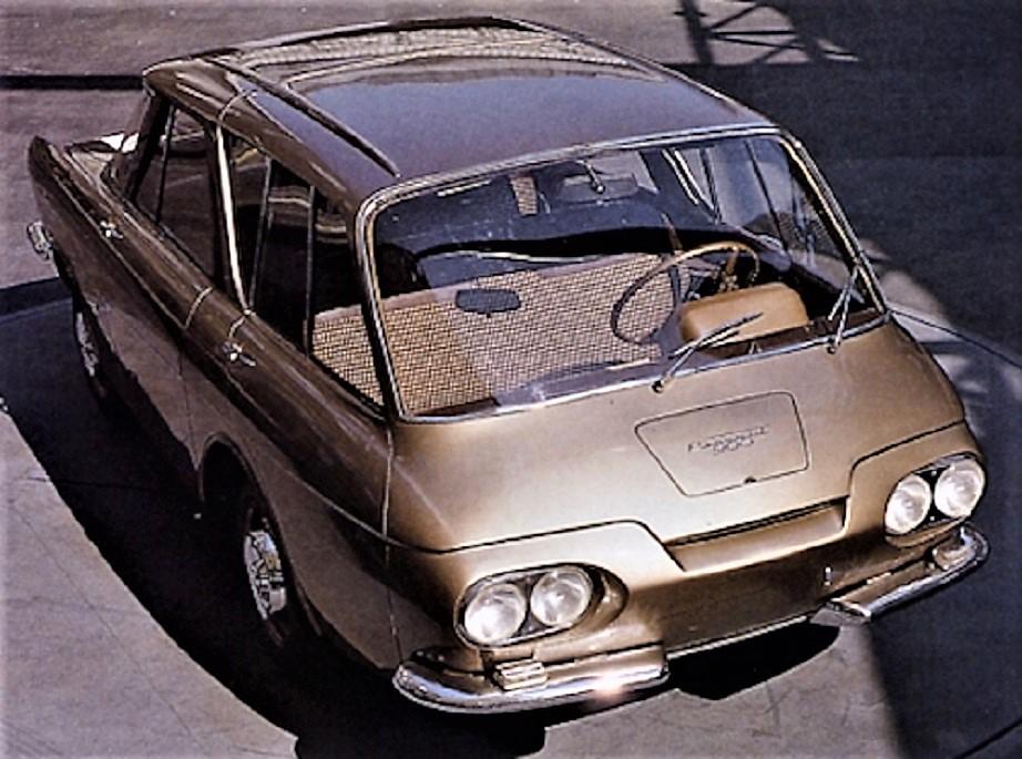 Renault 900 concept Sempre il prototipo prima versione della Ghia.
