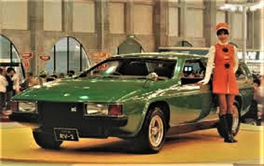 Toyota RV 2 Salone di Tokio del 1972.