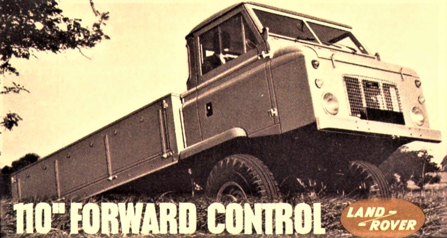 Land Rover Forward Control Brochure del periodo.