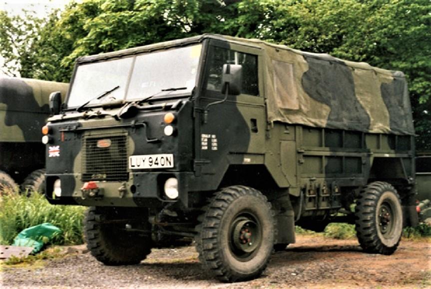 Land Rover Forward Control La versione in uso ai militari britannici.