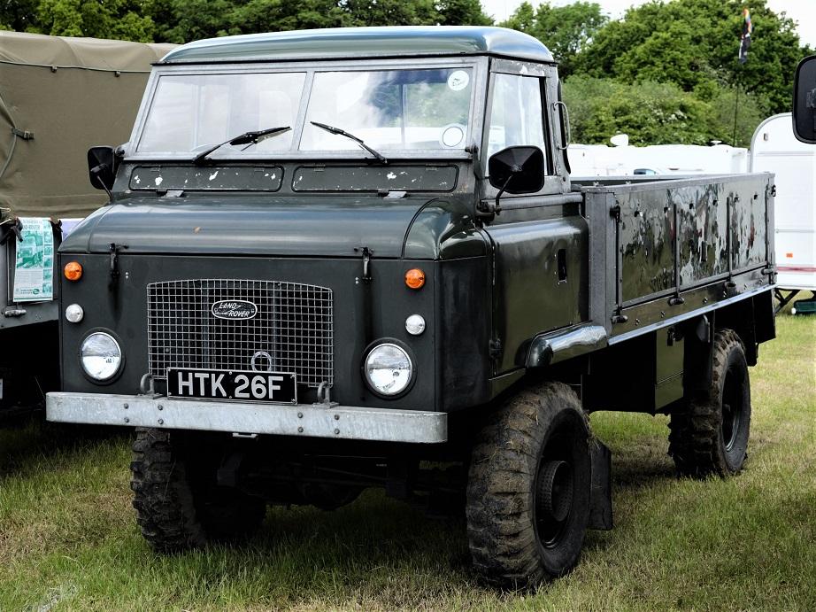 """Land Rover Forward Control Rispetto ad un """"normale"""" Land Rover aveva un raggio di sterzata migliore."""