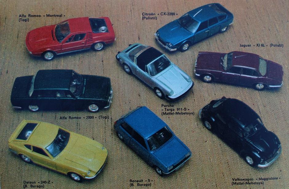 Miei ricordi su le auto in scala