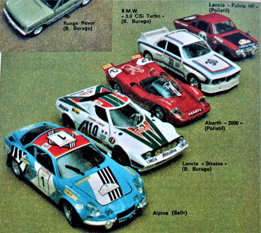 Miei ricordi su le auto in scala 5
