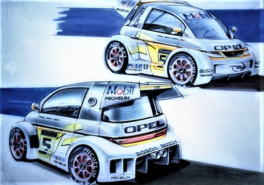 Opel MAXX Subito qualcuno ne pensò addirittura una versione da competizione.