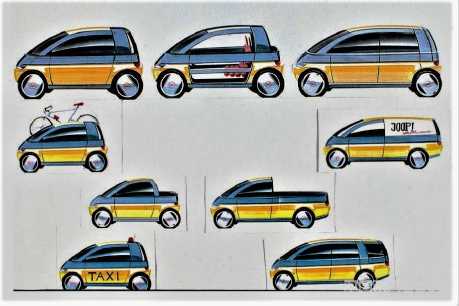 Opel MAXX La cosa che più mi piace di questa concept è la sua modularità.