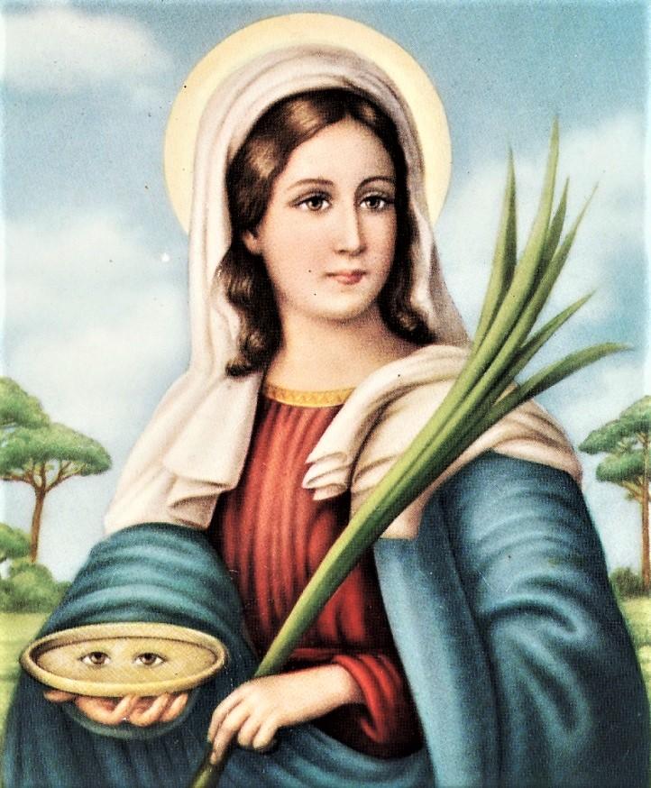 Santa Lucia Un'immagine della Santa.