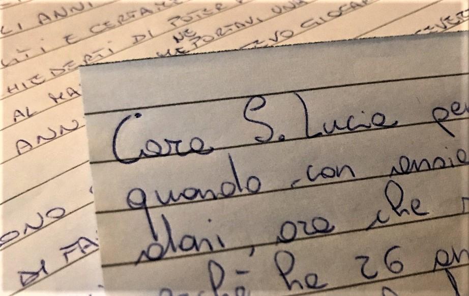"""Santa Lucia In quanti abbiamo scritto almeno una """"""""letterina"""""""" ???"""