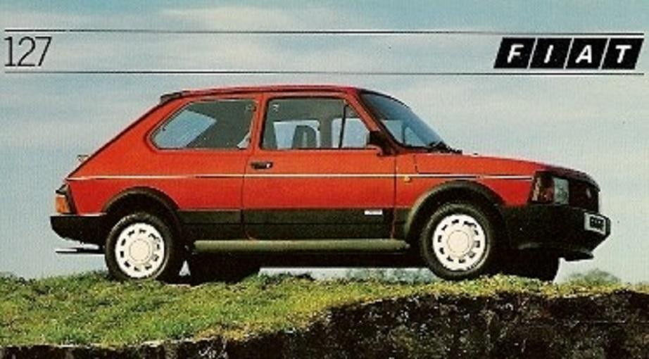 Lancia UNO Come per la Uno anche per la 127 si susseguirono modelli aggiornati.