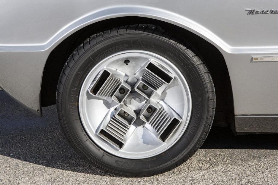 Cerchi in lega vintage Quelli montati sul prototipo Maserati Boomerang, personalmente li considero fra i più belli di sempre, fra i miei primi cinque.