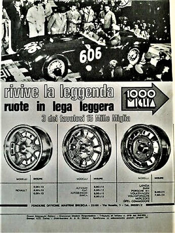"""Cerchi in lega vintage Questa invece pare essere; a me almeno; più """"calzante"""" sia per il tipo di cerchio che l'auto sul quale poterlo montare ;) ."""
