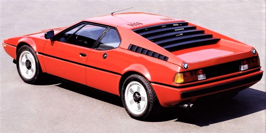 """Cerchi in lega vintage Una BMW M1 con dei cerchi molto """"essenziali"""", mi sono sempre piaciuti proprio per questo loro aspetto."""