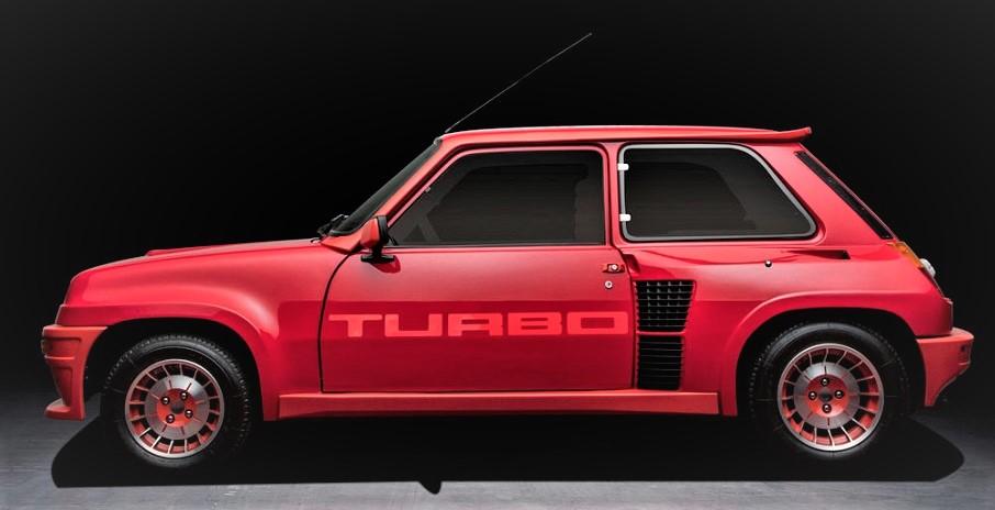 Cerchi in lega vintage 1981 - Renault 5 Turbo.