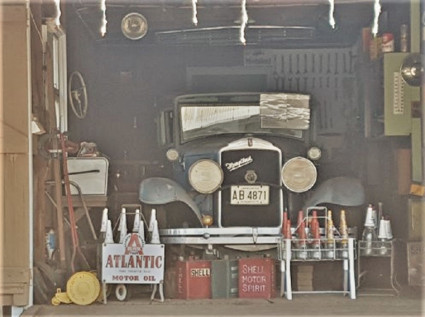 Garage vintage