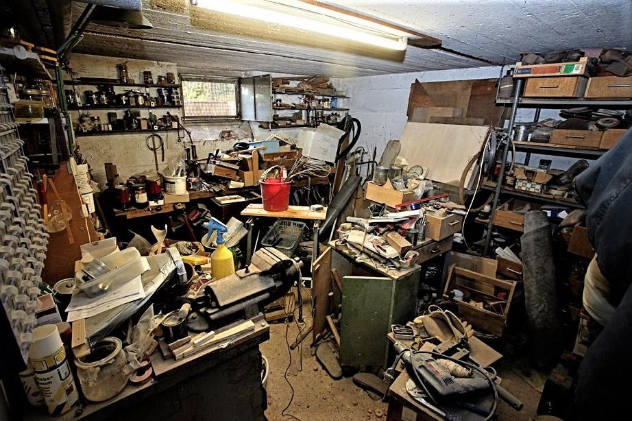 Garage vintage ;) non sono pochi quelli così.