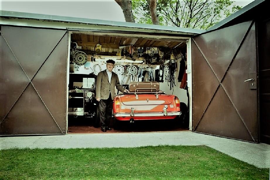 Garage vintage Foto stupenda, meritava anche lei la copertina.