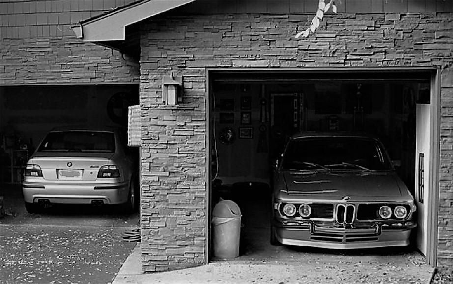 Garage vintage Nuovo e vintage.