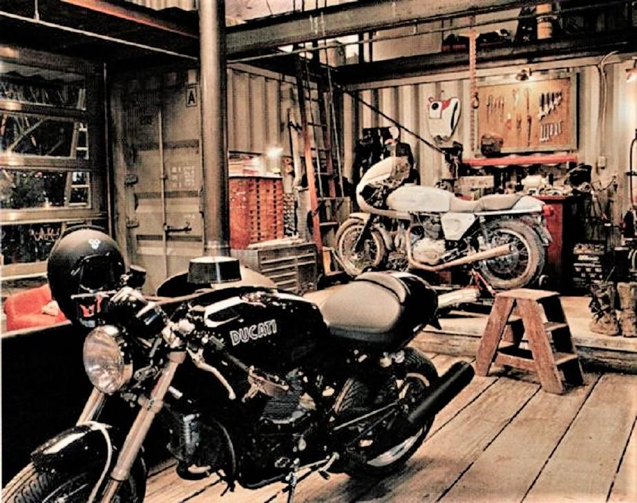 Garage vintage Quello che son certo vorrebbe un carissimo amico, il Pargolo.