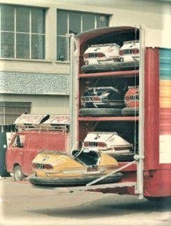 I camion delle giostre