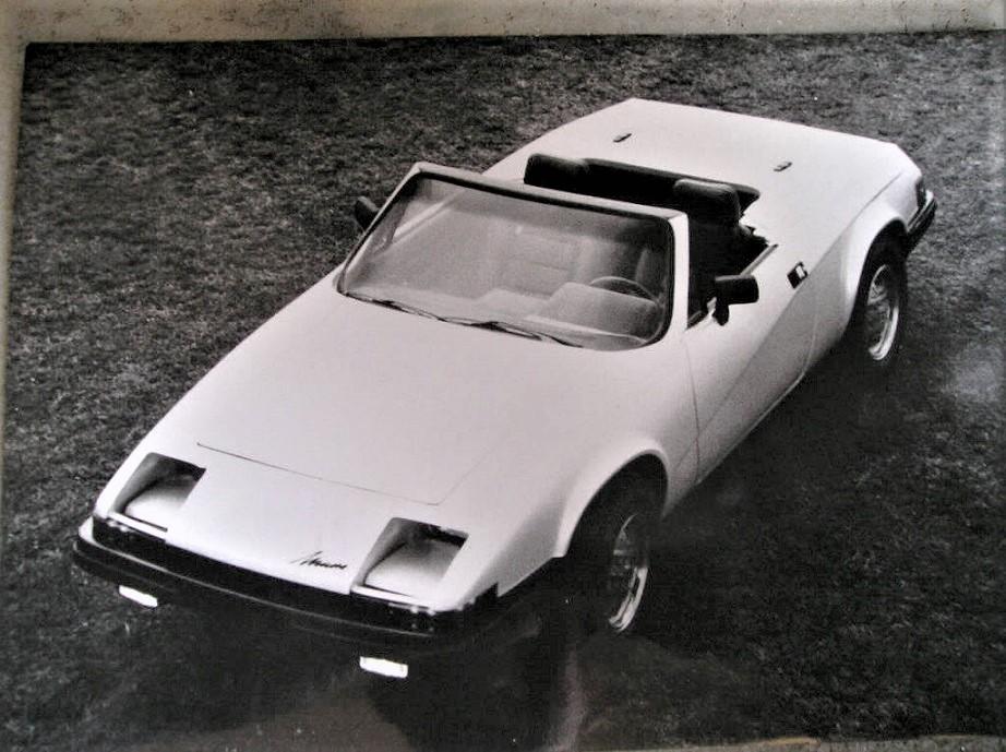 Miura dal Brasile La versione cabrio del 1982, la MKI.