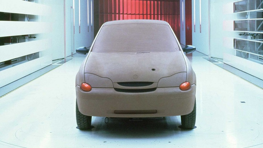 Porsche C88 L'auto al suo stato embrionale.