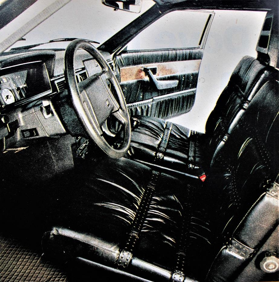 """Volvo 262 C Interni in pelle """"ricchi"""", cosa piuttosto abituale da vedersi in una Volvo, un caro zio ne ha avute."""
