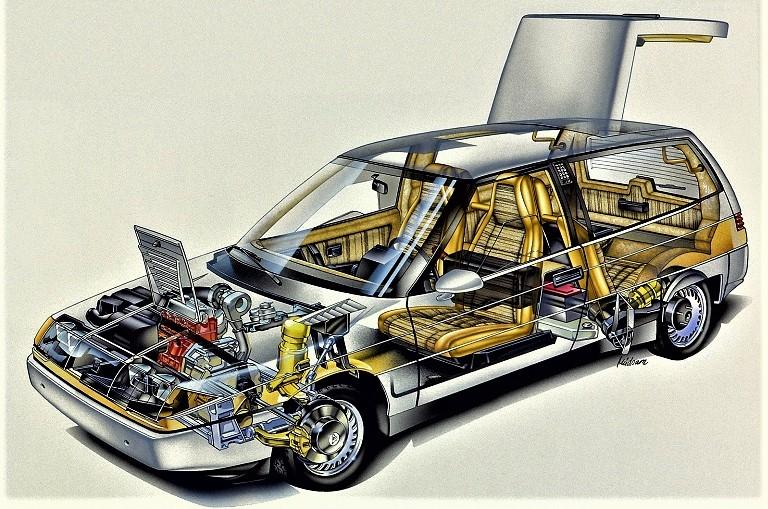 Volvo LCP 2000 Un cofano anteriore piccolo, perfetto per dei motori di quella cilindrate.