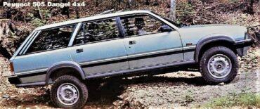 Dangel e Peugeot 1